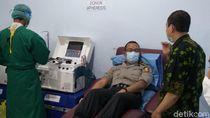 Sembuh dari Corona, Empat Calon Perwira Polisi DIY Donorkan Plasma