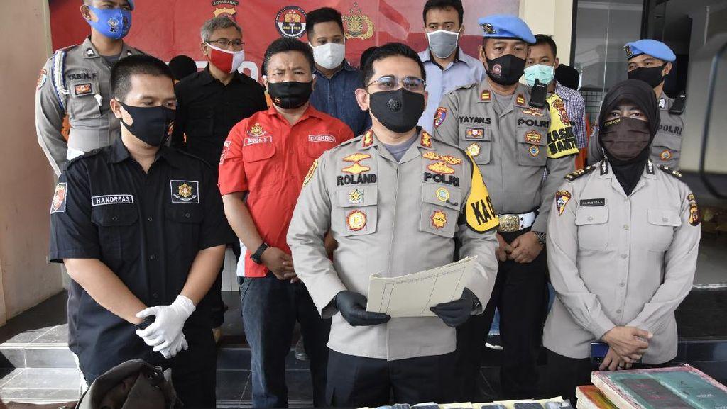 Polisi Tangkap Sindikat Pengedar Uang Palsu Ratusan Juta di Bogor