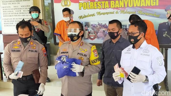 Polresta Banyuwangi Berhasil Ungkap 8 Kasus