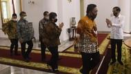 Bertemu Jokowi, Pimpinan MPR Bahas Sidang Tahunan dan RUU HIP