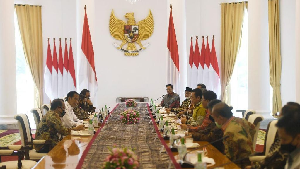 PD Tanya Langsung ke Jokowi soal Reshuffle Kabinet