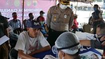 Cegah Corona, Sopir Bus AKAP-AKDP Jalani Rapid Test di Terminal Cianjur