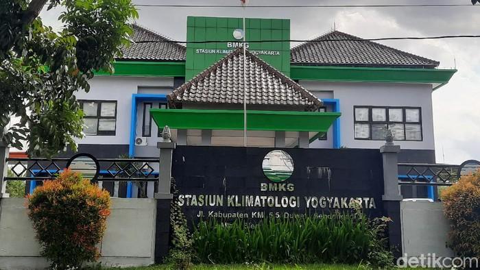 Stasiun Klimatologi BMKG Sleman, Rabu (8/7/2020).