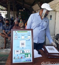 Sistem baru data kunjungan wisata secara online dalam kunjungan.jogjakota.go.id dengan menggunakan QR Code telah dipasang di Kawasan Kampung Wisata Tamansari oleh Wakil Walikota Daerah Istimewa Yogyakarta, Heroe Poerwadi, Rabu (08/07) pagi.