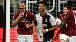 Provokasi Cristiano Ronaldo Dibalas Senyum Lebar Ibrahimovic