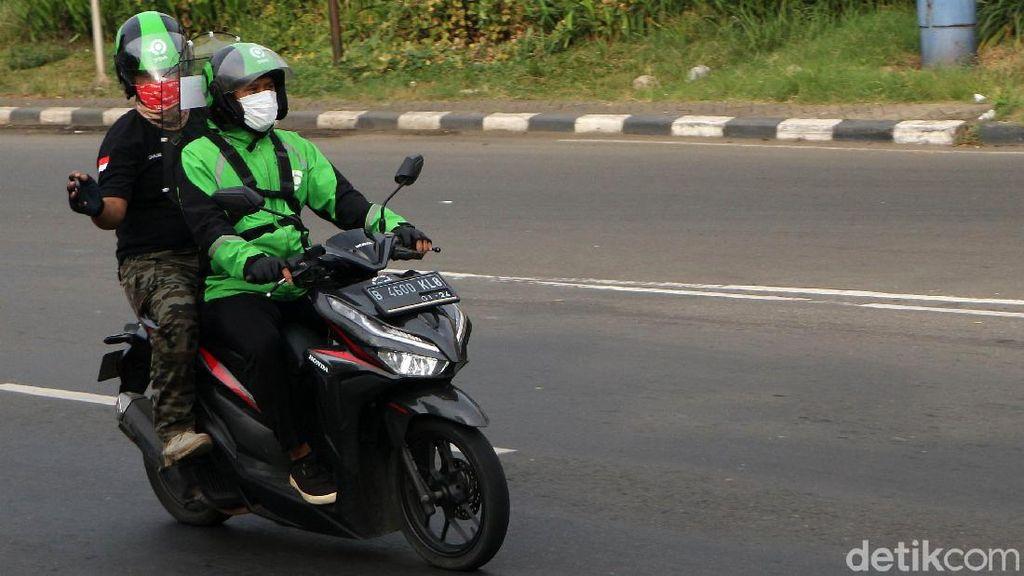 Zona Orange, Ojol di Bandung Sudah Diperbolehkan Tarik Penumpang
