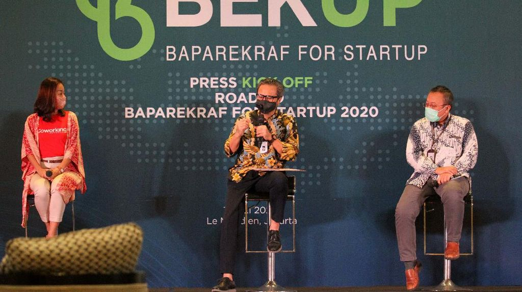 Baparekraf for Startup (BEKUP) 2020 Resmi Dibuka