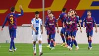 Barcelona Vs Espanyol: Main 10 Orang, Lionel Messi cs Menang 1-0