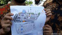 Mengintip Desain Miniatur Grand Mosque Abu Dhabi yang Dibangun di Solo