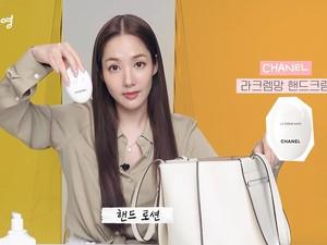 Intip Isi Tas Park Min Young, Ada Hand Cream Chanel Hingga Sisir Rp 2,4 Juta
