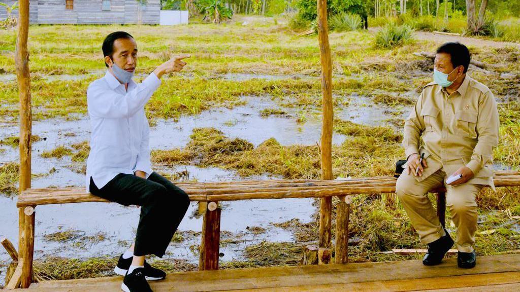 Sentilan Jokowi dan Aksi Prabowo Jajal Alutsista Dalam Negeri