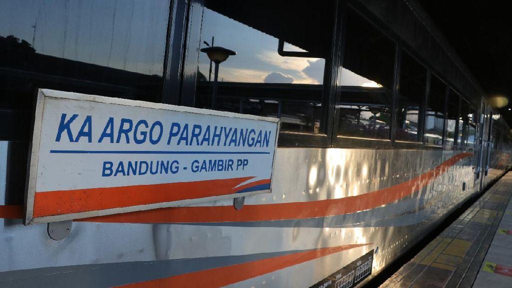 KA Argo Parahyangan Bandung-Jakarta Kembali Beroperasi Besok