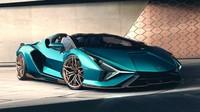 Wujud Lamborghini Sian Atap Terbuka Seharga Rp 53 M