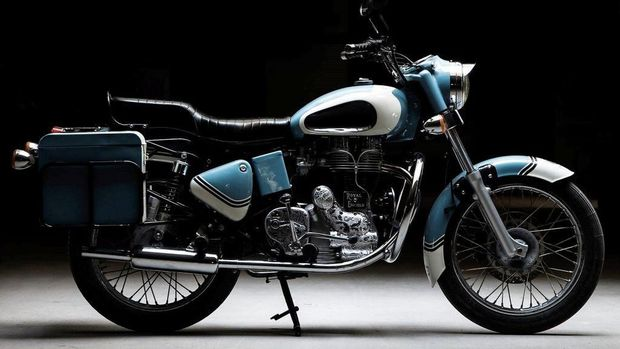 Modifikasi Royal Enfield Bullet