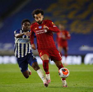 Top Skor Liga Inggris: Salah Kejar Aubameyang dan Vardy