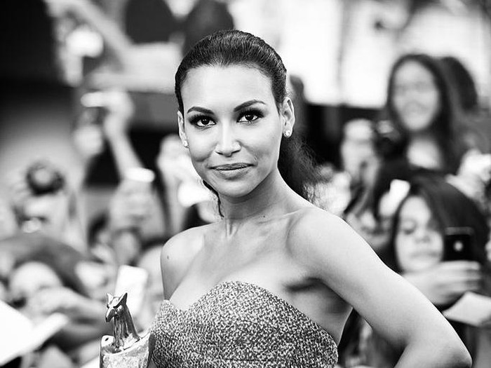 GIFFONI VALLE PIANA, ITALY - JULY 24:  (EDITORS NOTE: This image was processed using digital filters) Naya Rivera poses with the Giffoni Award during 2013 Giffoni Film Festival on July 24, 2013 in Giffoni Valle Piana, Italy.  (Photo by Vittorio Zunino Celotto/Getty Images)