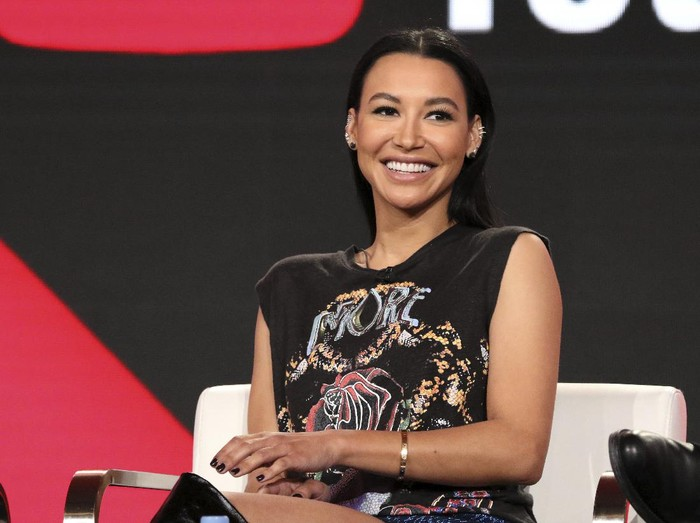 "FILE - In this Jan. 13, 2018, file photo, Naya Rivera participates in the Step Up: High Water panel during the YouTube Television Critics Association Winter Press Tour in Pasadena, Calif. Authorities say former ""Glee"" star Rivera is missing and being searched for at a Southern California lake. The Ventura County Sheriffs Department late Wednesday, July 8, 2020, confirmed that Rivera is the person being searched for in the waters of Lake Piru, which is approximately 56 miles (90 kilometers) northwest of downtown Los Angeles. (Photo by Willy Sanjuan/Invision/AP, File)"