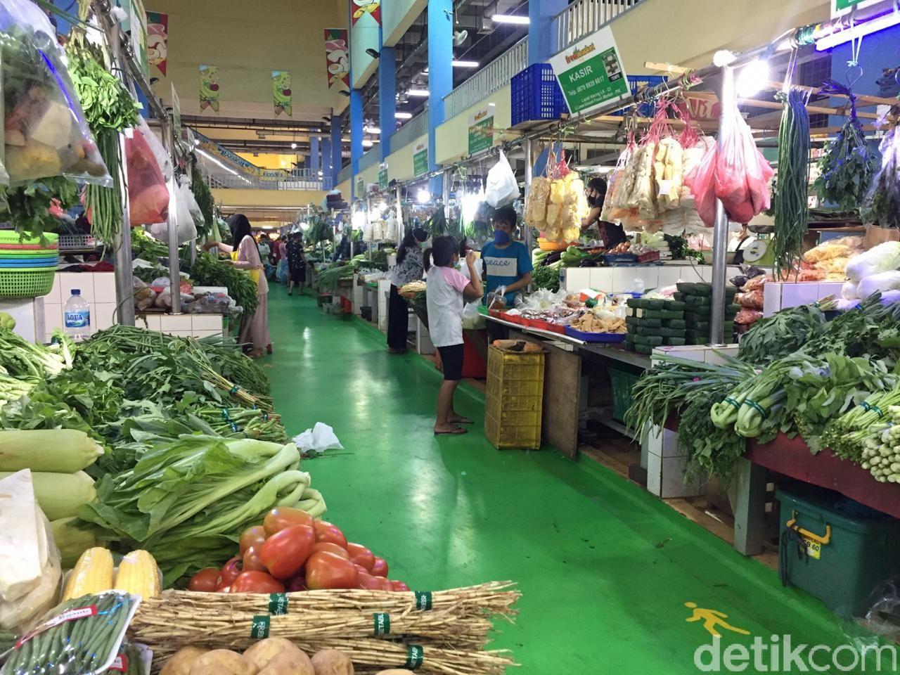Tampilan Pasar Modern