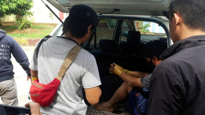Pencuri kabel ditangkap polisi Sukabumi