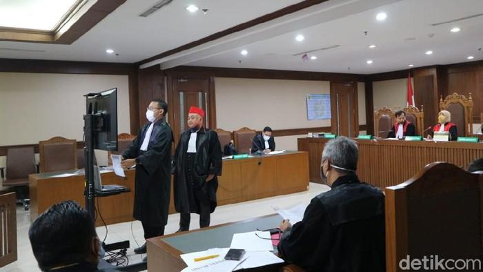 Persidangan kasus suap yang menjerat Wahyu Setiawan