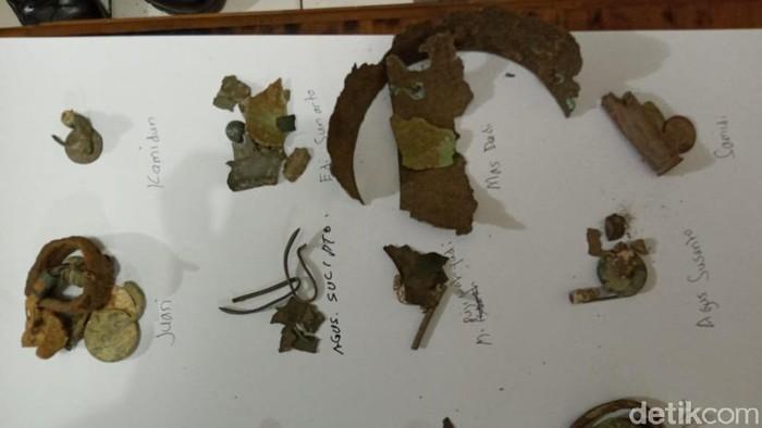 Polisi ciduk belasan orang penjarah makam kuno orang Kalang, Blora, Kamis (9/7/2020).