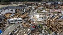 Video Sisa Keganasan Banjir Jepang yang Tewaskan Puluhan Orang