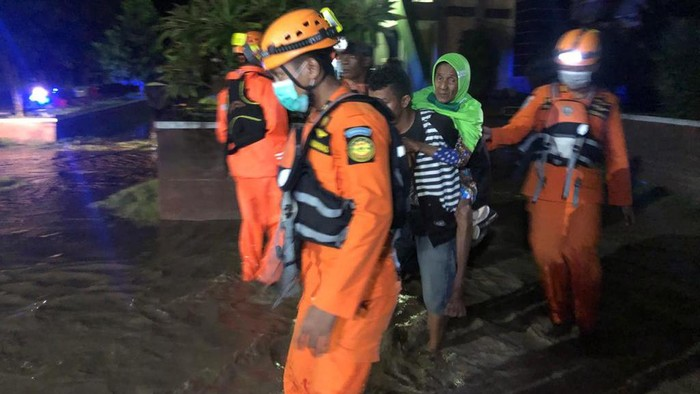 RSUD Torabelo Sigi dilanda banjir.