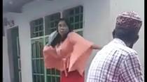 Video Wanita Ngamuk dan Lempar Al-Quran Ditangkap Polisi