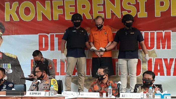 Sosok WN Prancis yang diduga cabuli 305 anak di Jakarta