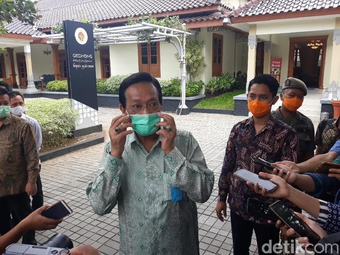 Sri Sultan Hamengku Buwono X, Yogyakarta, Kamis (9/7/2020).