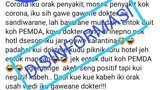 IDI Jepara Polisikan Postingan soal Corona Konspirasi Dokter dan Pemda