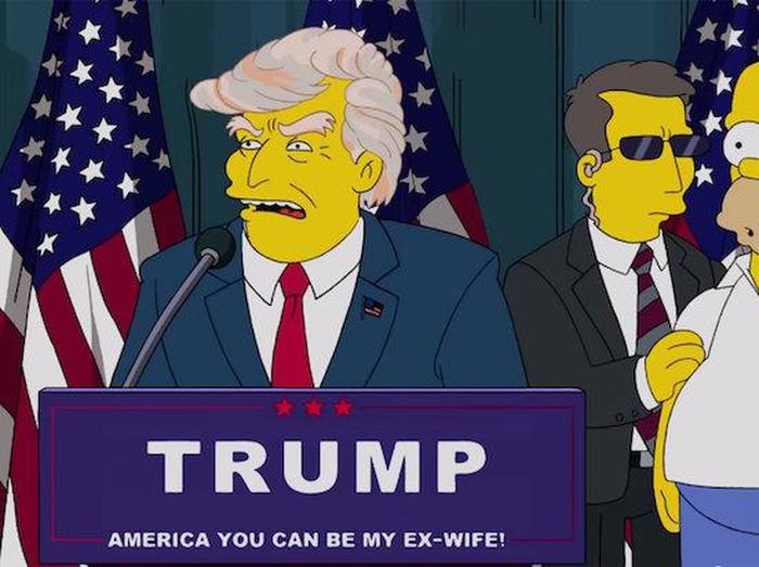 Ramalan The Simpsons tentang Kamala Harris.