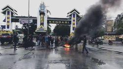 Tolak TKA China Gelombang 3, Massa Ancam Blokade Bandara Haluoleo Kendari