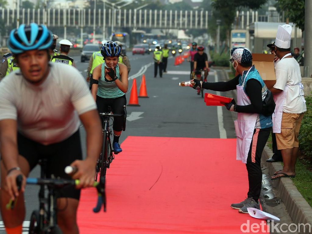 Bakal Ada 600 Km Jalur Sepeda di DKI, Sudirman Sampai HI Jadi Jalur Permanen