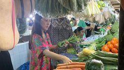 5 Artis Ini Belanja ke Pasar, Asyik Borong Bahan Makanan!