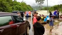 Banjir di Konawe Utara, Akses Lintas Provinsi Putus