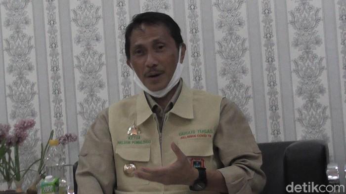 Bupati Gorontalo Nelson Pomalingo (Ajis Khalid/detikcom)