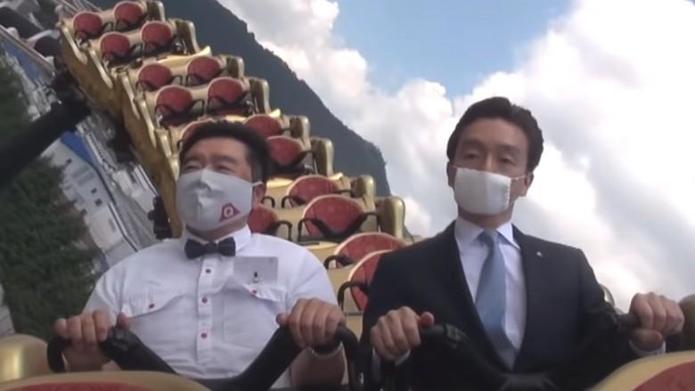 Covid-19 dan penyebaran percikan air liur: Jangan teriak, serius dong, kata taman hiburan di Jepang kepada para pengunjung