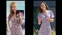 Wanita Ini Tiru Gaya Fashion Kate Middleton, Beli 15 Baju Setiap Bulannya