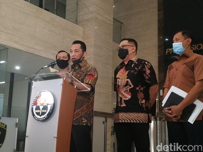 Kabareskrim Komjen Listyo Sigit Prabowo