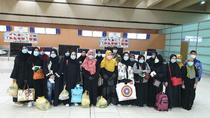 KBRI Riyadh pulangkan 18 WNI korban TPPO (Dok. KBRI Riyadh)