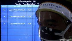 KAI Perketat Pemeriksaan Kesehatan Penumpang yang Turun di Jakarta