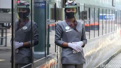 Kisah Pramugari Kereta Api yang Dirumahkan di Masa Pandemi Corona