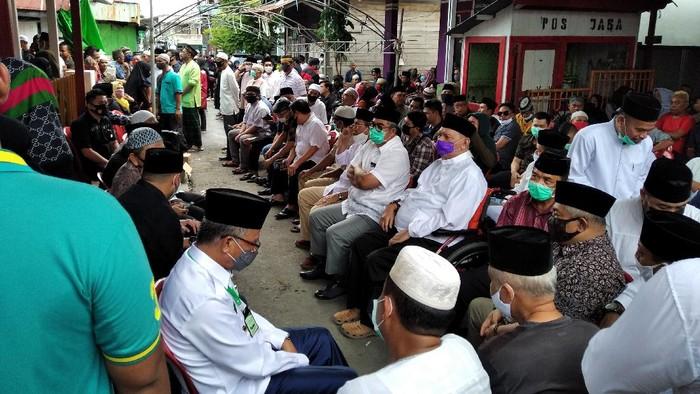 Kondisi Rumah Duka Ketua DPRD Samarinda Siswadi