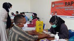 KPU Banyuwangi Gelar Rapid Test Massal untuk Petugas Pilkada