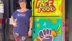 Kulkas Artistik Ini Tersebar di New York untuk Bantu Orang Tak Mampu