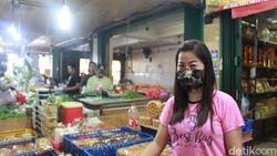 Kantong Plastik Dilarang, Ini Tanggapan Para Penjual di Pasar Muara Karang