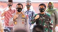 Tanggulangi Corona, Panglima TNI dan Kapolri Resmikan Kampung Tangguh Nusantara