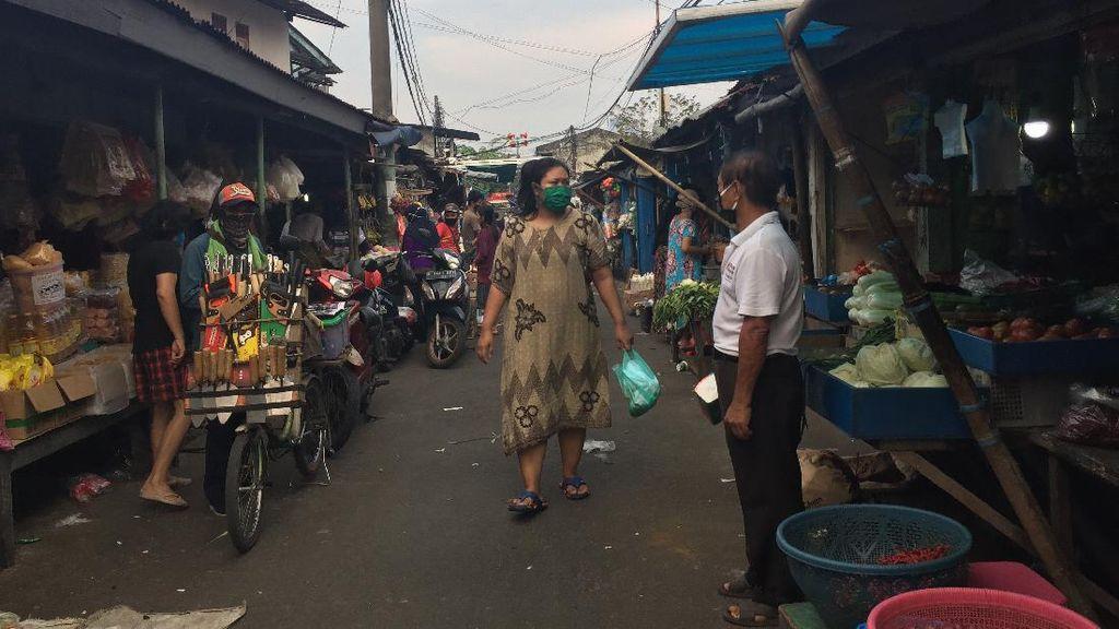 Ini Respons Pedagang Pasar di DKI Diancam Tak Tes Corona-Tak Boleh Dagang