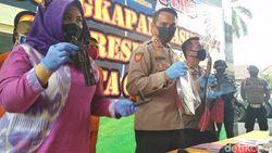 Polresta Cirebon Amankan Pencuri Motor Berbekal Pistol Mainan